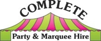 Complete Party & Marquee Hire