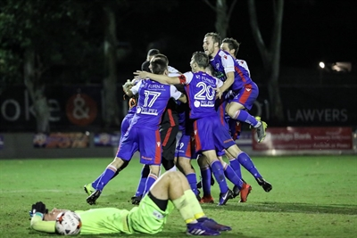FFA  Cup vs  Brisbane  City