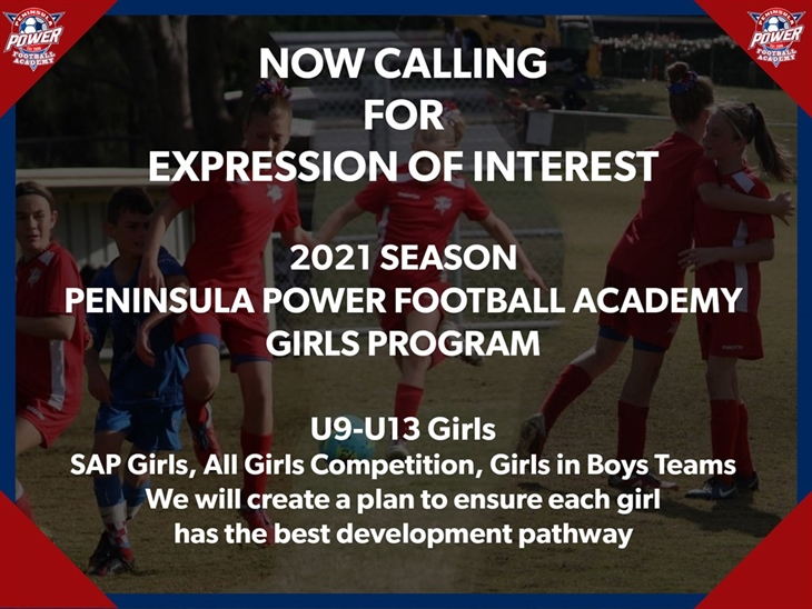 Academy  Girls  Interest 2021